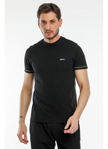 Slazenger Slazenger MOPET Erkek T-Shirt  Siyah